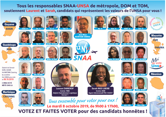 elections_conseil administration_2019_unsa_servair_filiales_representants